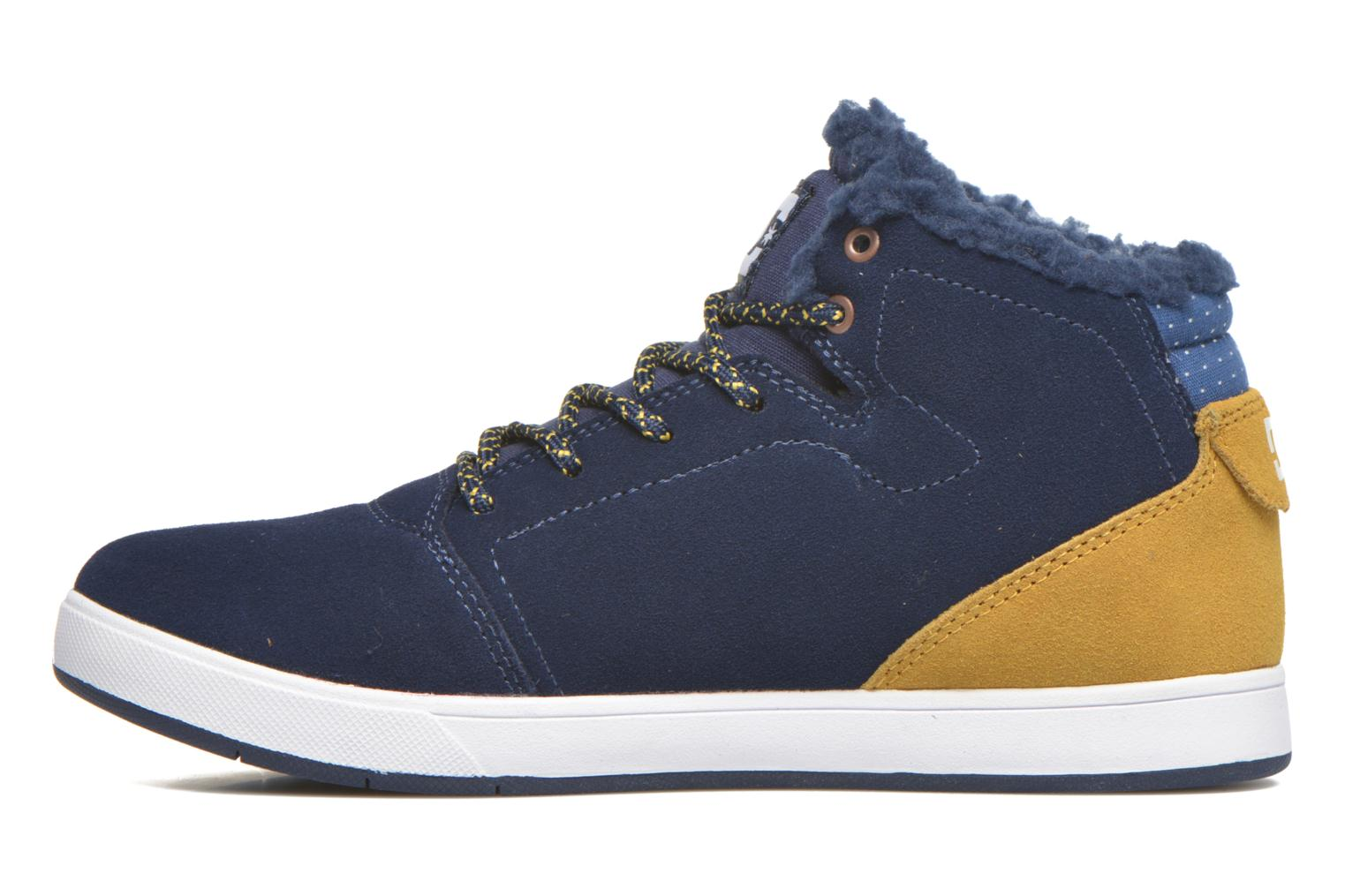 Baskets DC Shoes CRISIS HIGH WNT Bleu vue face