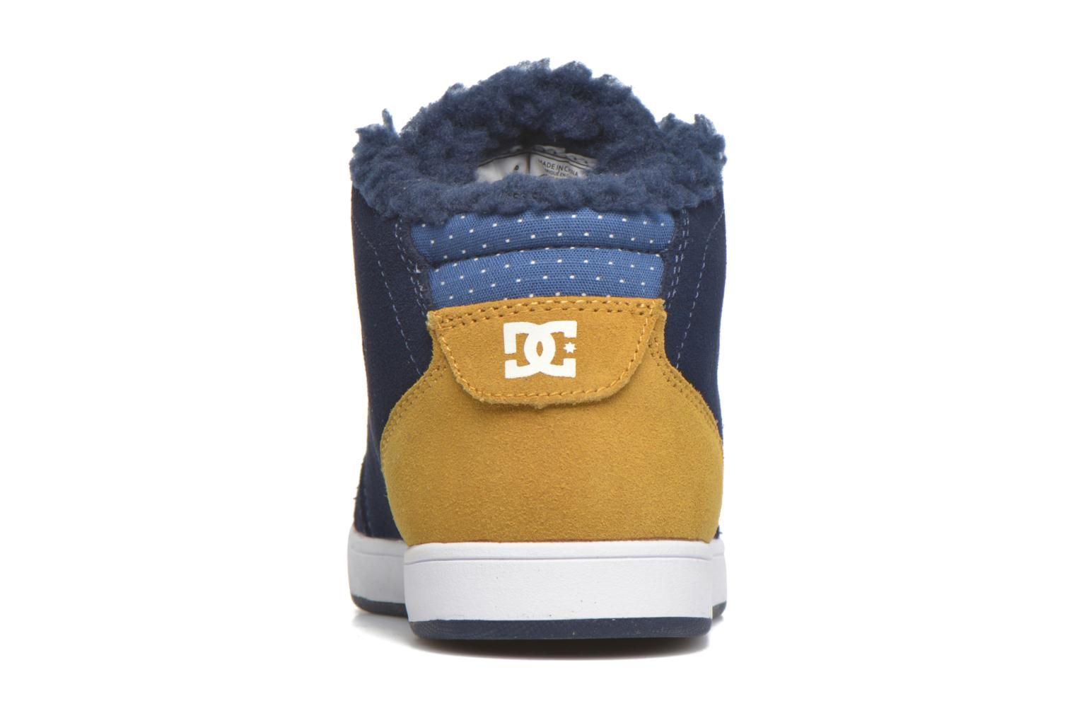 Baskets DC Shoes CRISIS HIGH WNT Bleu vue droite