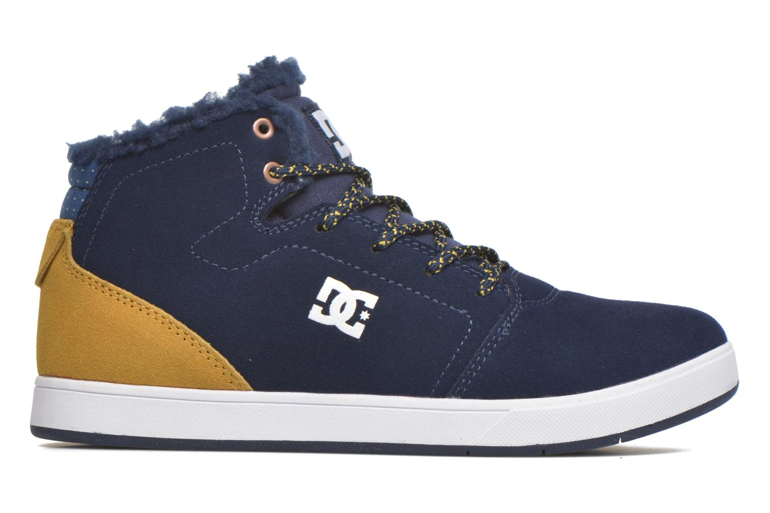 Baskets DC Shoes CRISIS HIGH WNT Bleu vue derrière