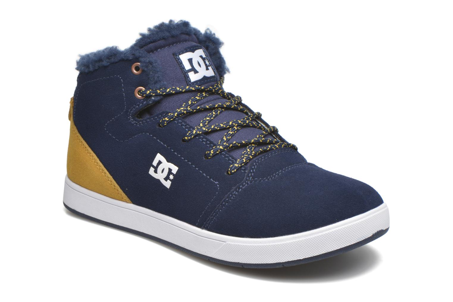Baskets DC Shoes CRISIS HIGH WNT Bleu vue détail/paire