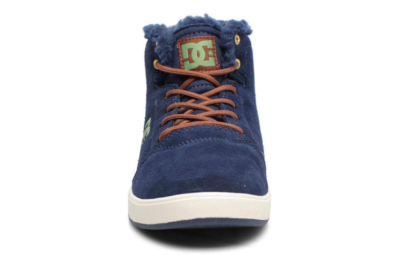 Deportivas DC Shoes CRISIS HIGH WNT Azul vista del modelo