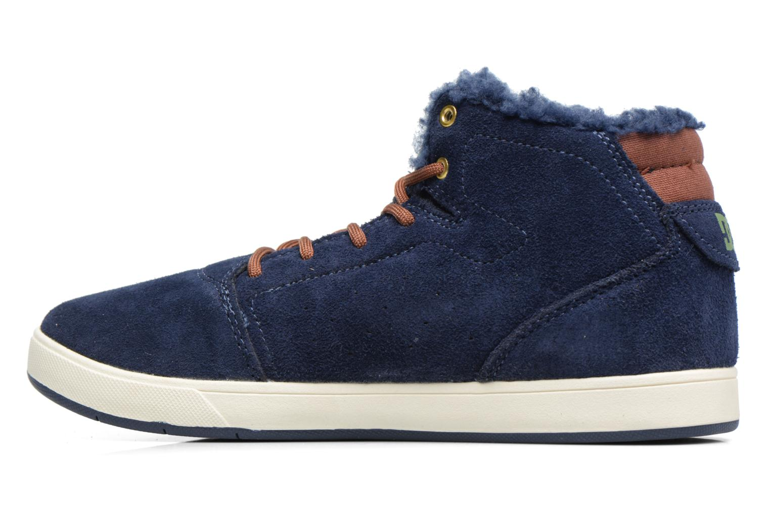 Sneakers DC Shoes CRISIS HIGH WNT Blauw voorkant