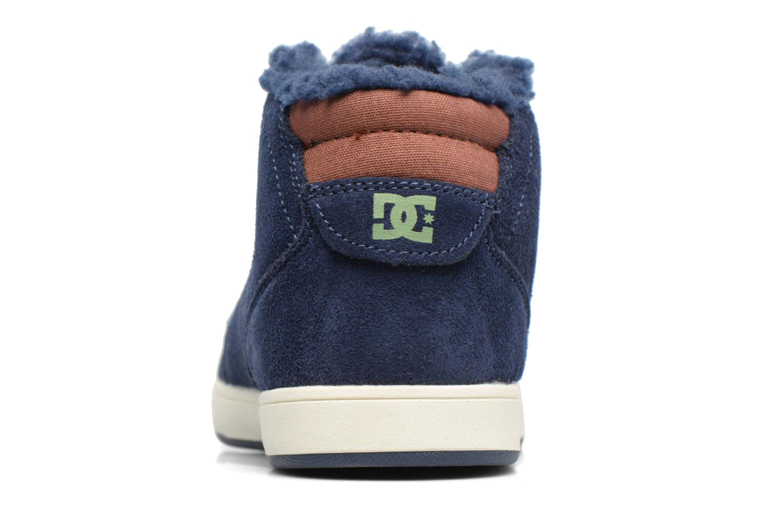 Trainers DC Shoes CRISIS HIGH WNT Blue view from the right
