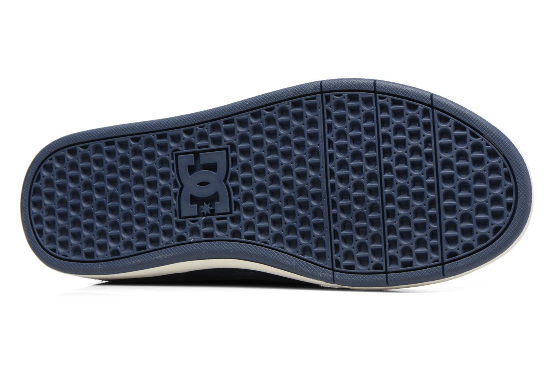 Deportivas DC Shoes CRISIS HIGH WNT Azul vista de arriba