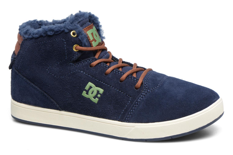 Deportivas DC Shoes CRISIS HIGH WNT Azul vista de detalle / par