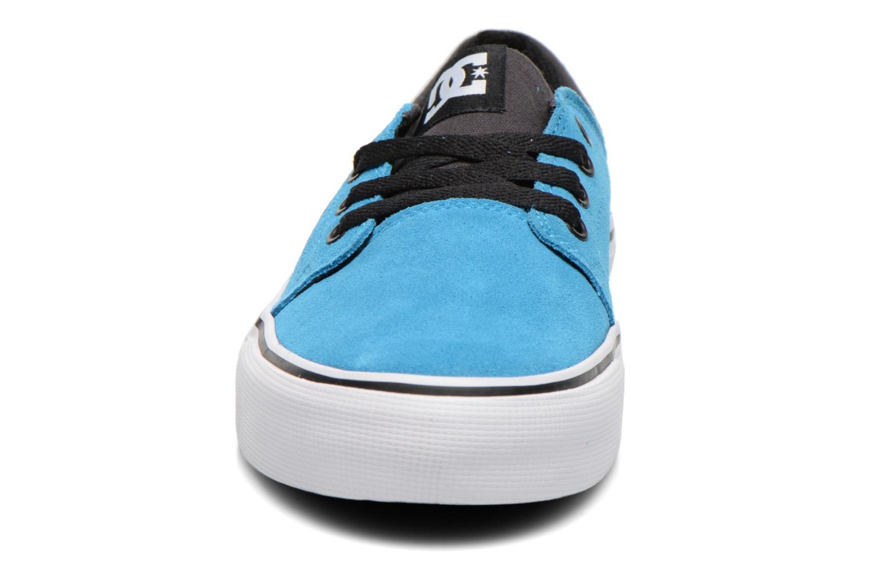 Baskets DC Shoes TRASE SD Bleu vue portées chaussures
