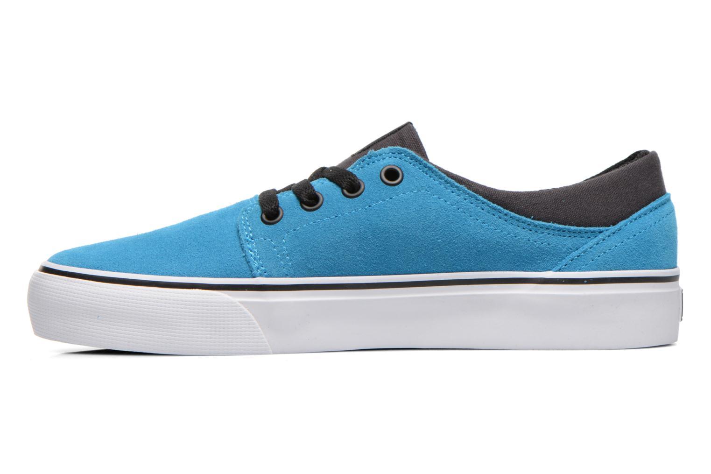 Deportivas DC Shoes TRASE SD Azul vista de frente