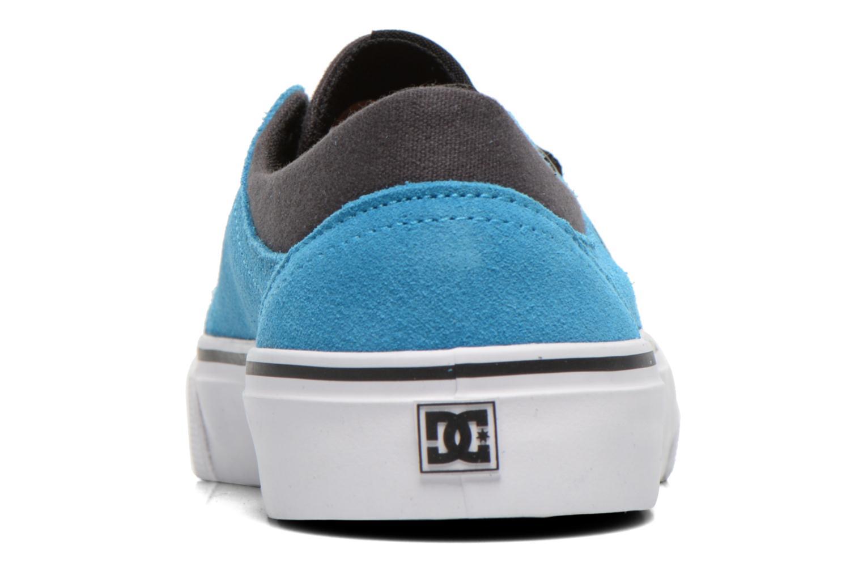 Deportivas DC Shoes TRASE SD Azul vista lateral derecha