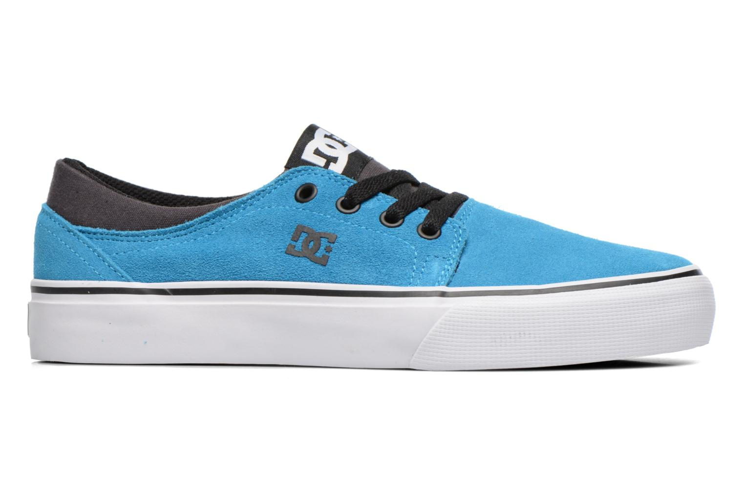 Trainers DC Shoes TRASE SD Blue back view
