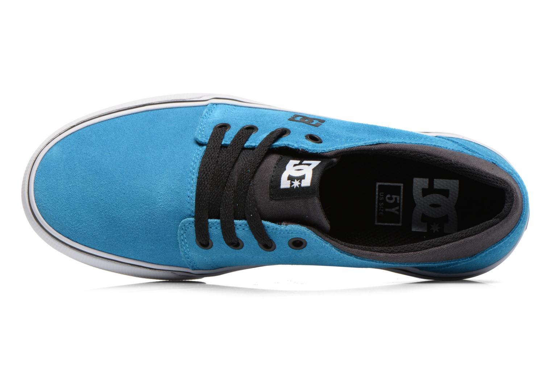 Deportivas DC Shoes TRASE SD Azul vista lateral izquierda