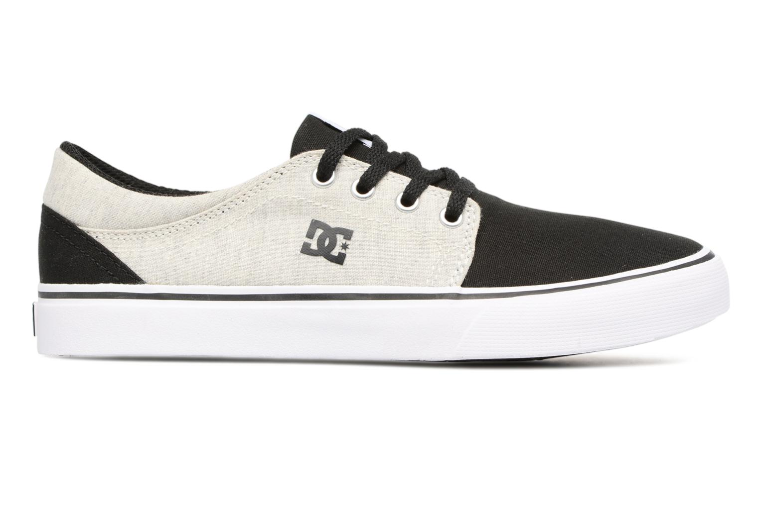 Sneakers DC Shoes TRASE TX Kids Zwart achterkant