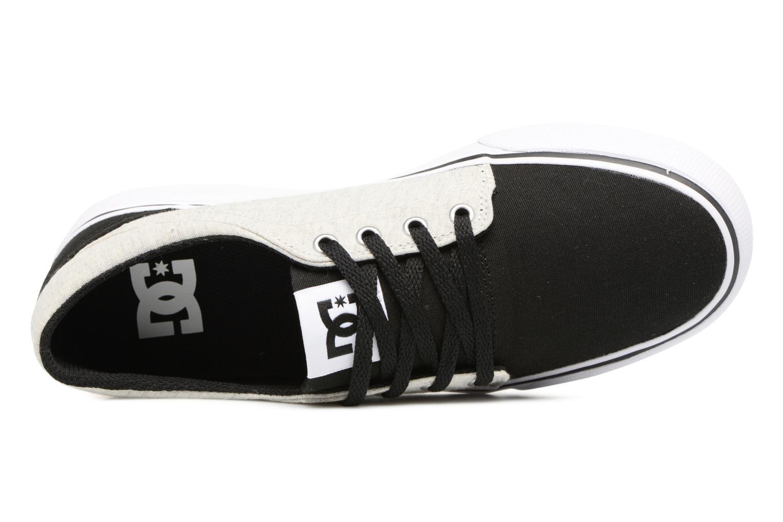 Deportivas DC Shoes TRASE TX Kids Negro vista lateral izquierda