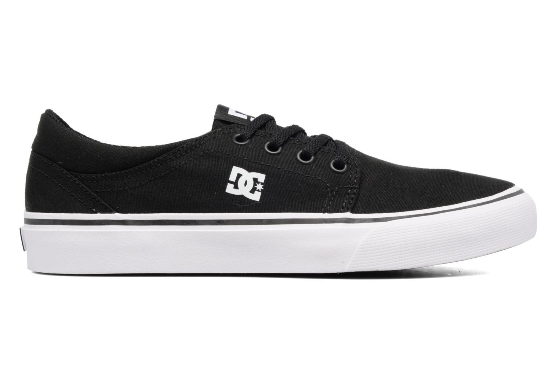 Sneakers DC Shoes TRASE TX Kids Zwart achterkant