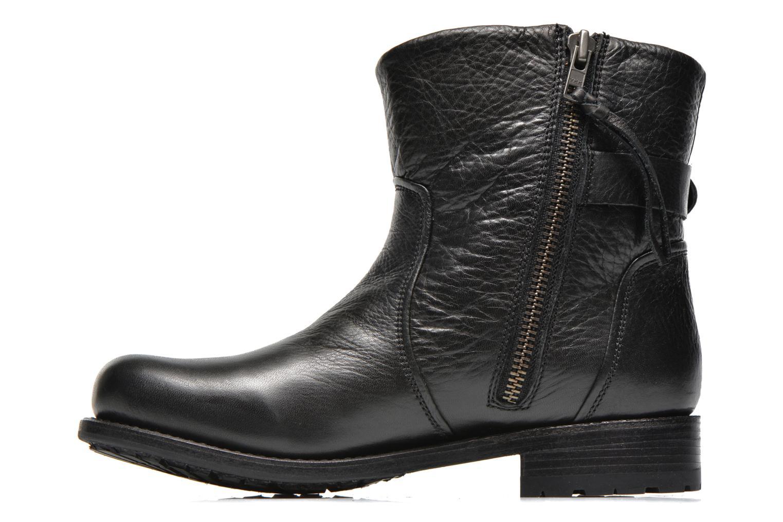 Boot Buckle Fur Black