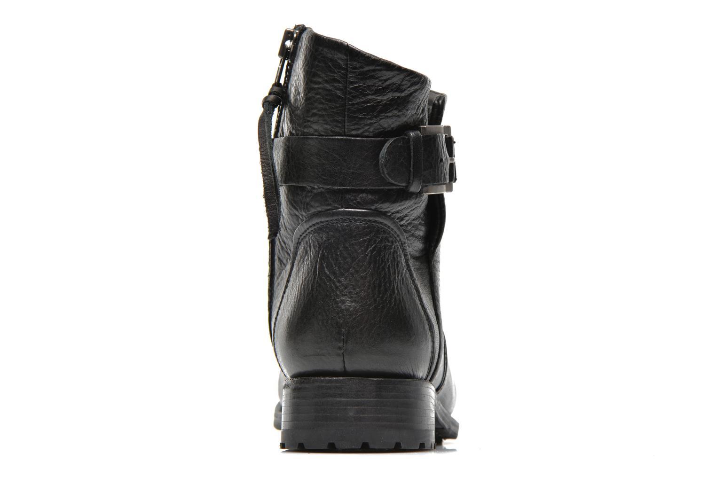 Bottines et boots Blackstone Boot Buckle Fur Noir vue droite