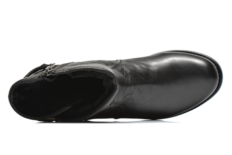 Bottines et boots Blackstone Boot Buckle Fur Noir vue gauche