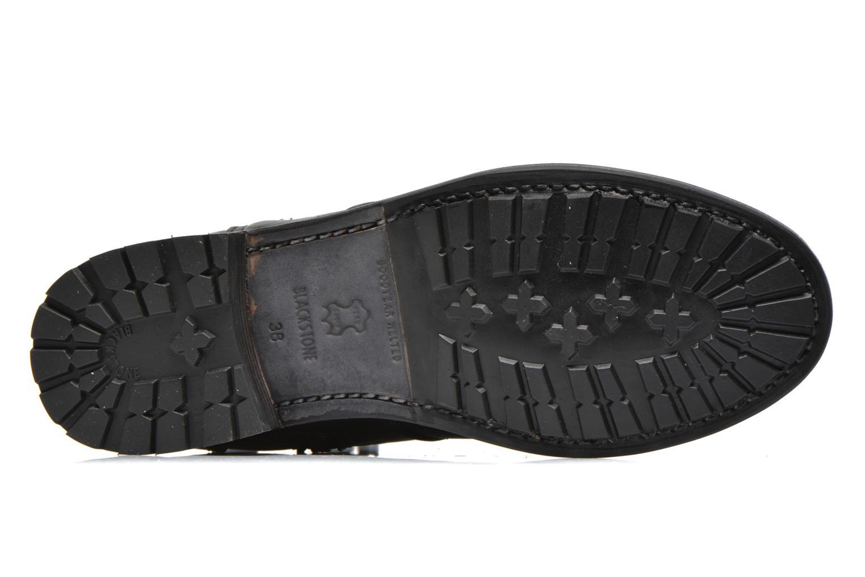 Bottines et boots Blackstone Boot Buckle Fur Noir vue haut