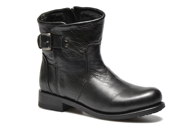 Bottines et boots Blackstone Boot Buckle Fur Noir vue détail/paire