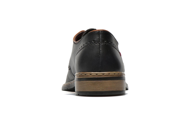 Chaussures à lacets Rieker Neo 10822 Noir vue droite