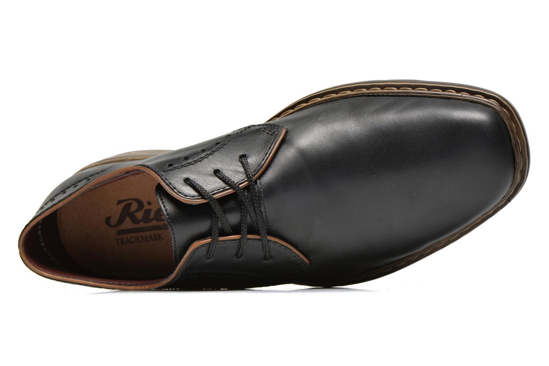 Chaussures à lacets Rieker Neo 10822 Noir vue gauche