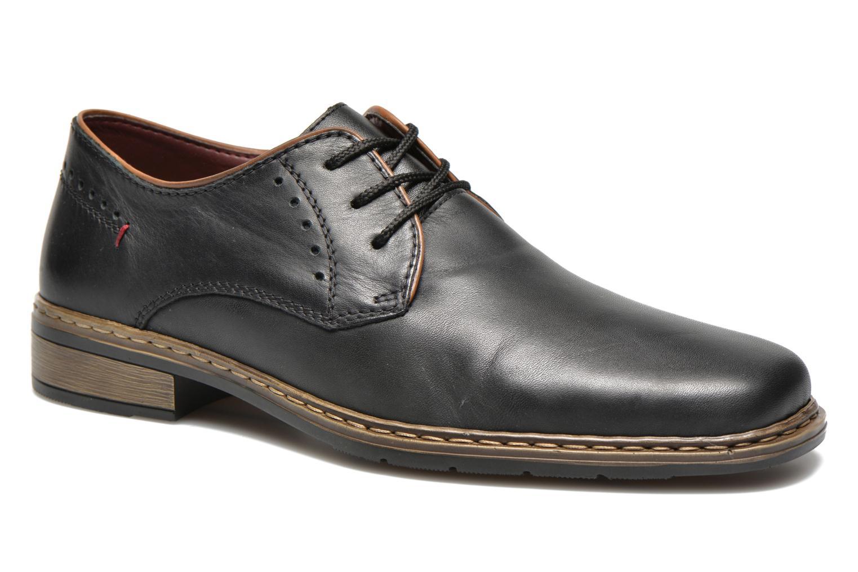 Chaussures à lacets Rieker Neo 10822 Noir vue détail/paire