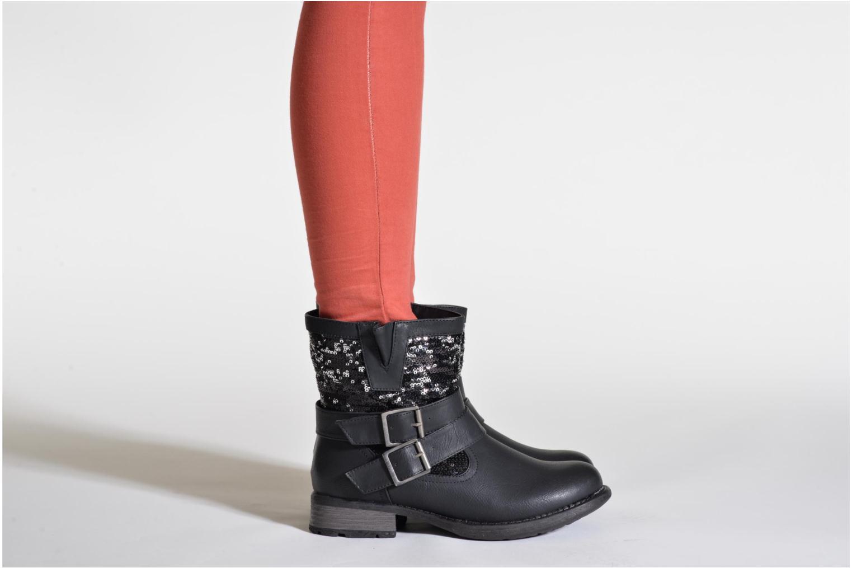 Bottines et boots Rieker Oula 97263 Noir vue bas / vue portée sac