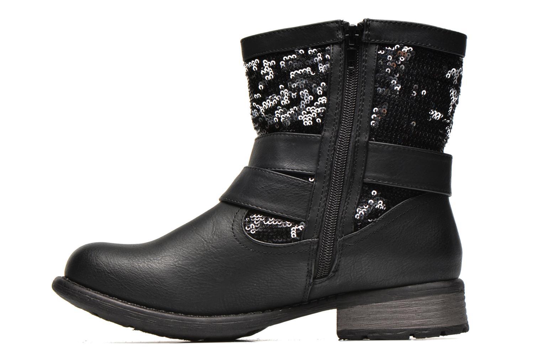 Bottines et boots Rieker Oula 97263 Noir vue face