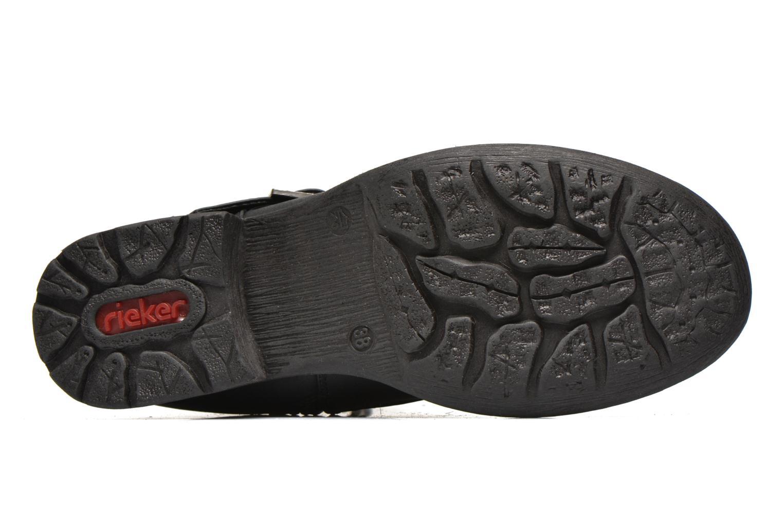 Bottines et boots Rieker Oula 97263 Noir vue haut