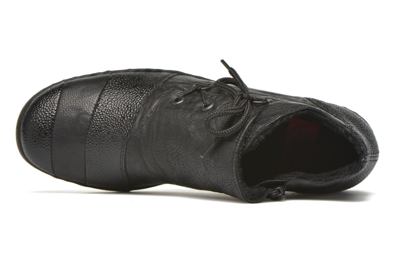Chaussures à lacets Rieker Fleur L4334 Noir vue gauche