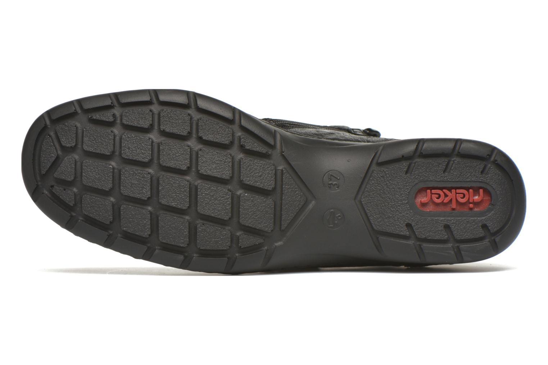 Chaussures à lacets Rieker Fleur L4334 Noir vue haut