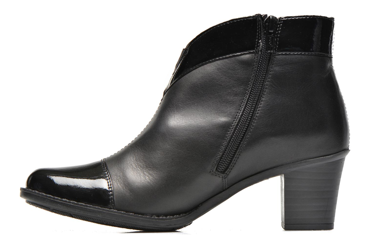 Bottines et boots Rieker Sally Z7664 Noir vue face
