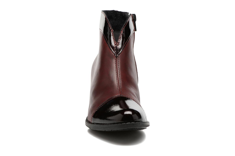 Bottines et boots Rieker Sally Z7664 Bordeaux vue portées chaussures