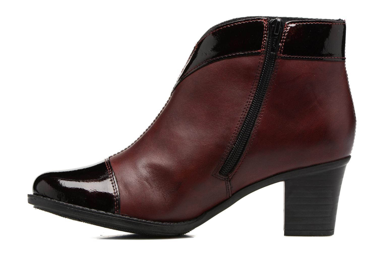 Bottines et boots Rieker Sally Z7664 Bordeaux vue face