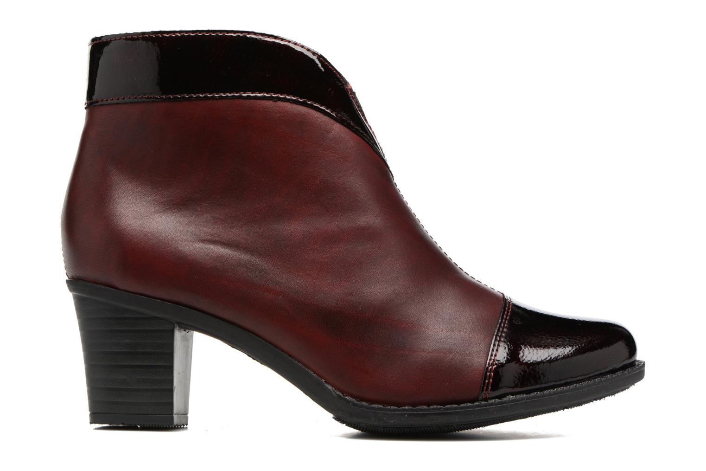 Bottines et boots Rieker Sally Z7664 Bordeaux vue derrière