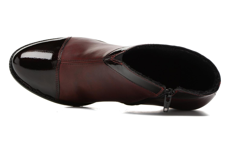 Bottines et boots Rieker Sally Z7664 Bordeaux vue gauche