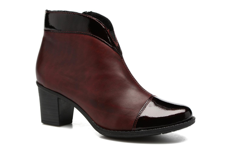 Bottines et boots Rieker Sally Z7664 Bordeaux vue détail/paire