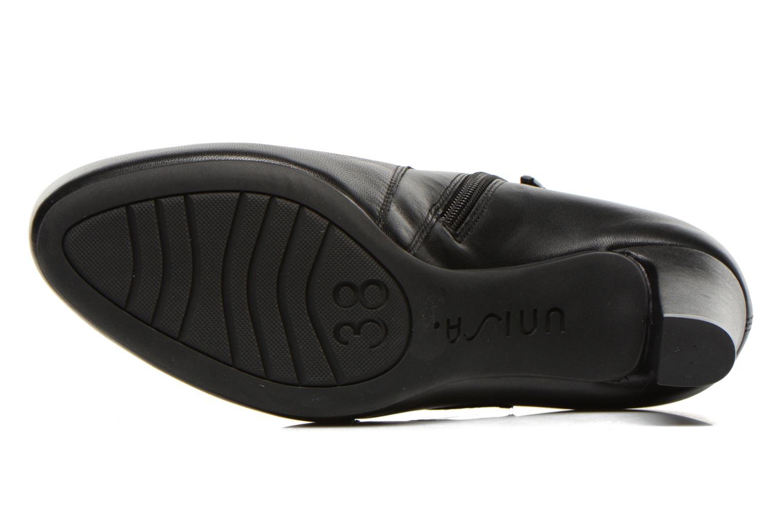Bottines et boots Unisa Napur Noir vue haut