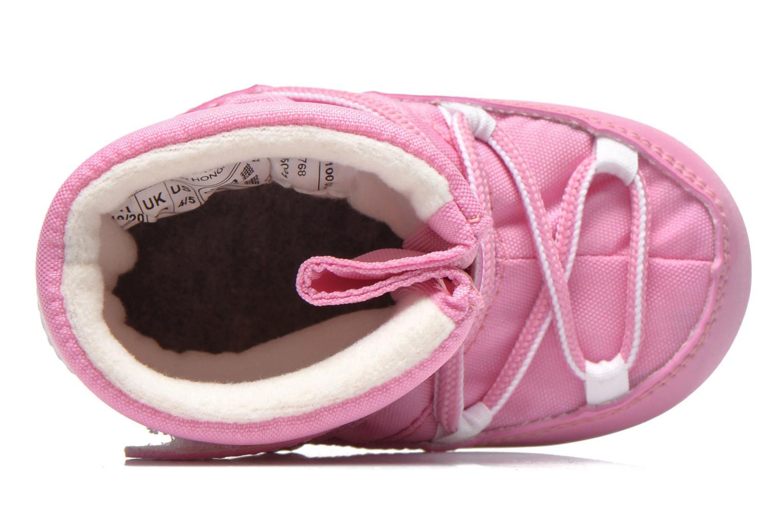 Stivali Moon Boot Moon Boot Crib Rosa immagine sinistra