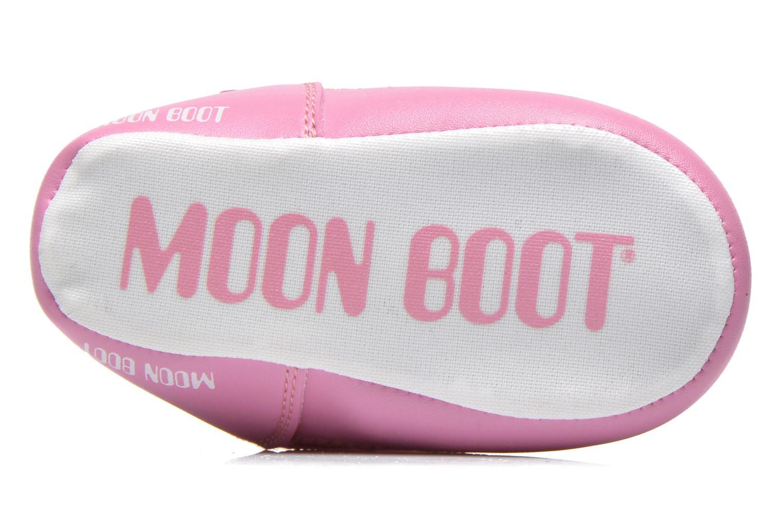 Stivali Moon Boot Moon Boot Crib Rosa immagine dall'alto
