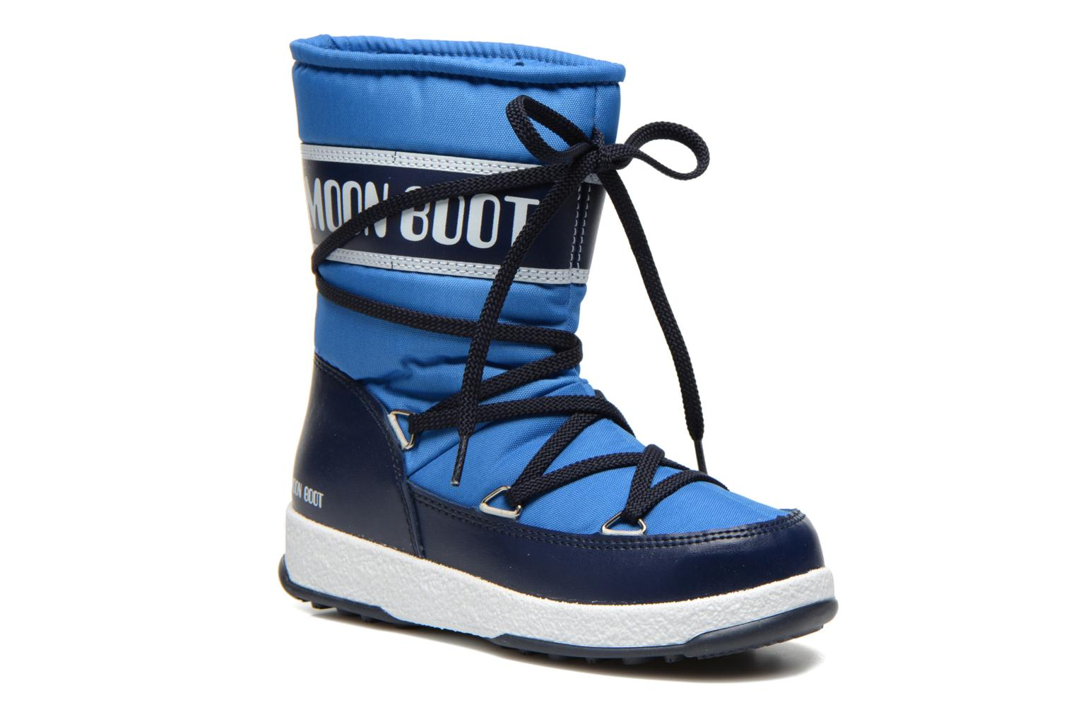 Moon Boot WE Sport Jr Azure Blue Navy