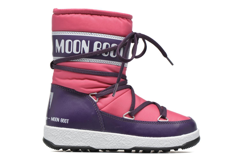 Bottes Moon Boot Moon Boot Sport Jr Rose vue derrière