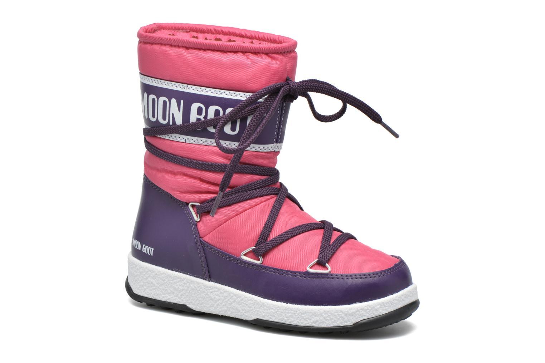 Moon Boot WE Sport Jr Bouganville/Violet