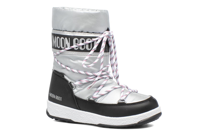 Moon Boot WE Sport Jr Silver - Black
