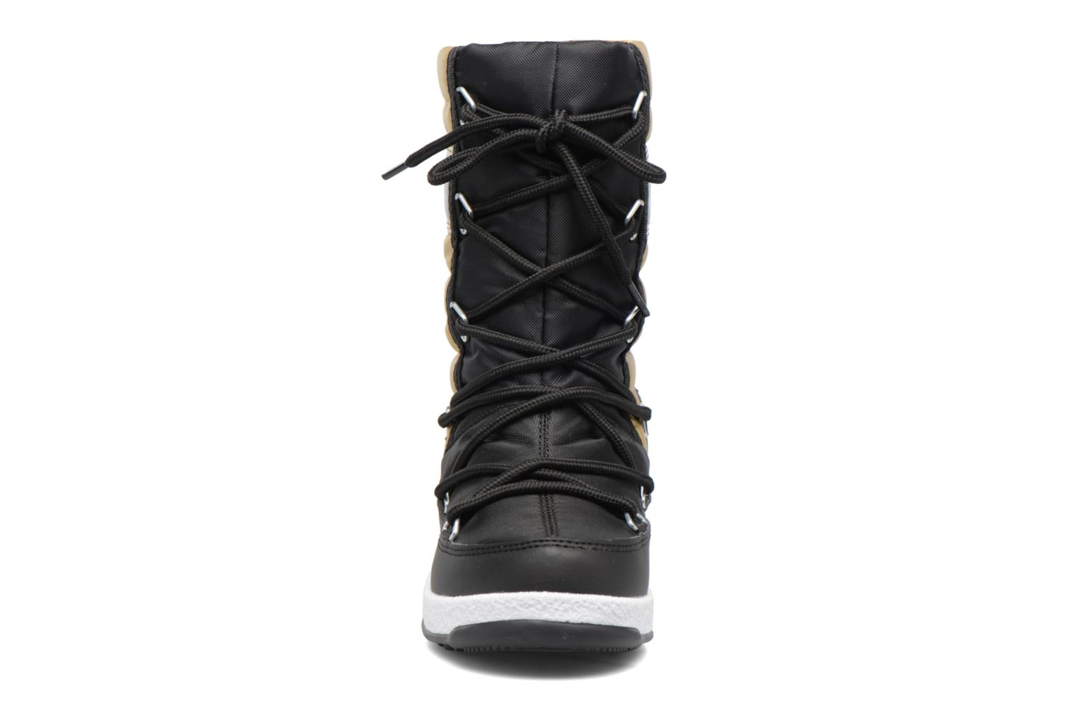 Bottes Moon Boot Moon Boot Quilted Jr Wp Or et bronze vue portées chaussures