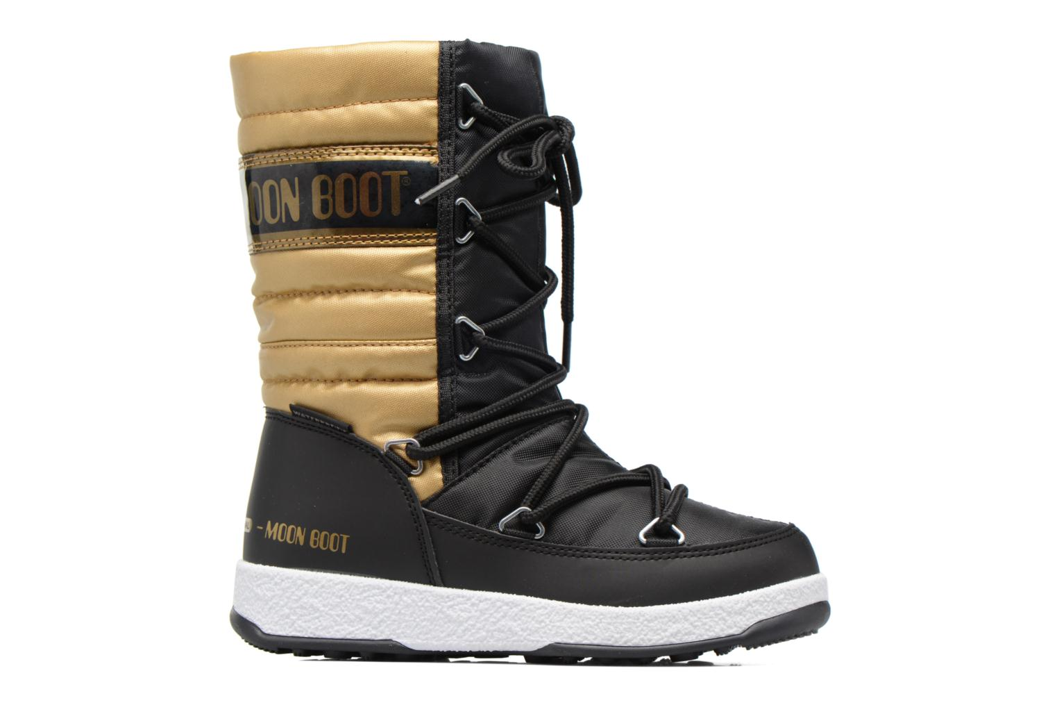 Moon Boot W.E. Quilted Jr Wp Black - Gold