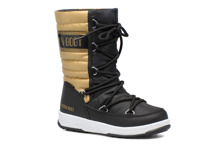 Bottes Moon Boot Moon Boot Quilted Jr Wp Or et bronze vue détail/paire