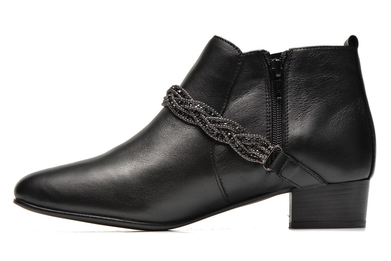 Bottines et boots Georgia Rose Lullueboot Noir vue face