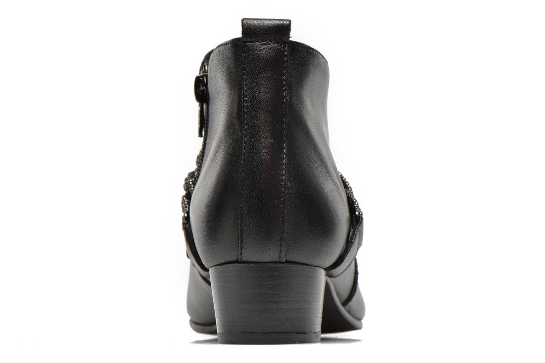Bottines et boots Georgia Rose Lullueboot Noir vue droite