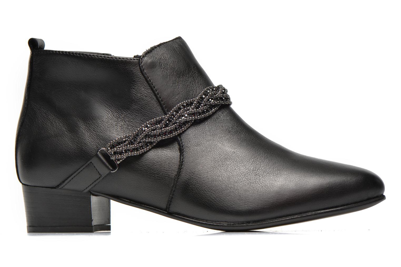 Bottines et boots Georgia Rose Lullueboot Noir vue derrière