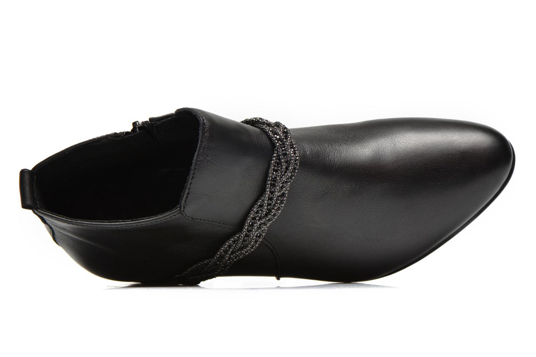 Bottines et boots Georgia Rose Lullueboot Noir vue gauche